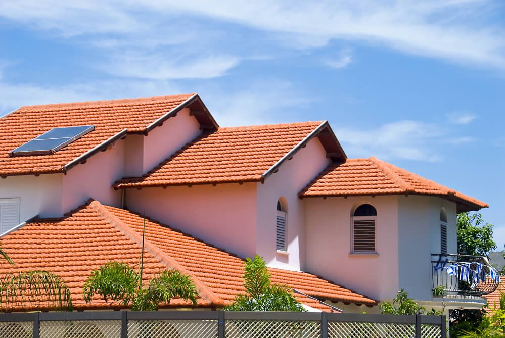 spanish tile roof system for homes