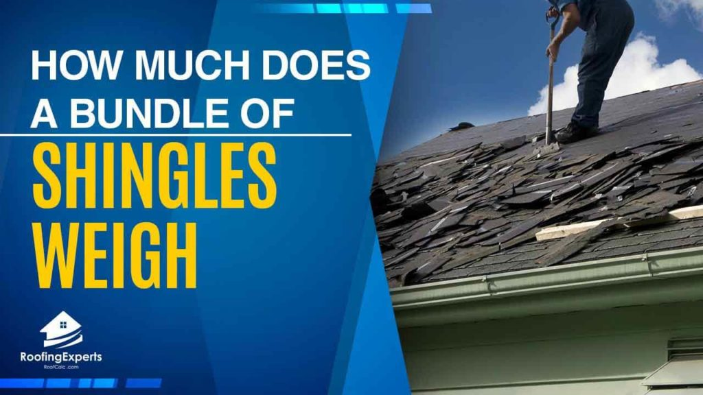 how much does a bundle of shingles weigh
